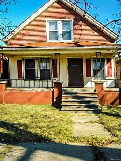 Detroit Single Family Home For Sale: 5728 30th Street