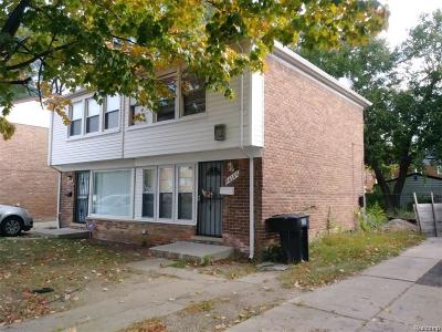 Detroit Single Family Home For Sale: 16156 Greenfield Road