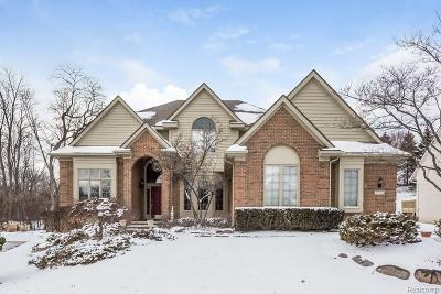 Farmington, Farmington Hills Single Family Home For Sale: 27234 Cambridge Lane