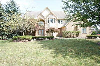 Plymouth Single Family Home For Sale: 9058 Stone Hollow Court