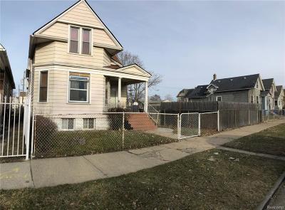 Detroit Single Family Home For Sale: 2140 Lansing Street