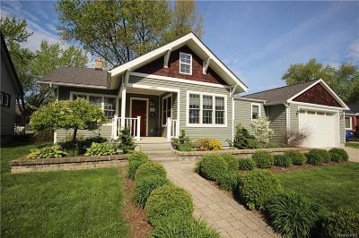 Berkley Single Family Home For Sale: 1885 Gardner Avenue