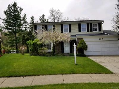 Oxford, Oxford Twp, Oxford Vlg Single Family Home For Sale: 425 Thornehill Trail
