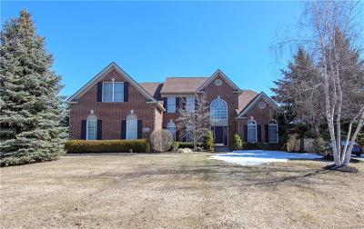 Northville Twp Single Family Home For Sale: 15714 Spyglass Drive