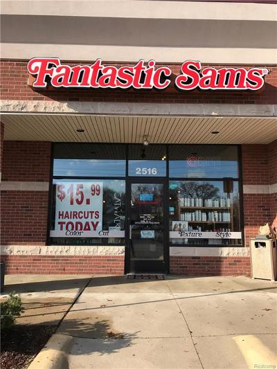 Commerce Twp Commercial For Sale: 2516 Union Lake Road