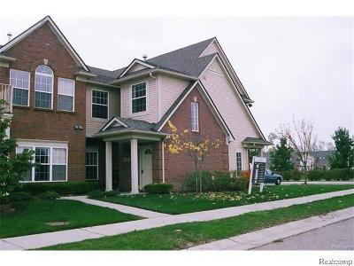 Canton Condo/Townhouse For Sale: 48437 Manor Bridge Drive