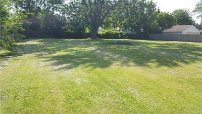 Clinton Twp Residential Lots & Land For Sale: 35096 Mabon St.