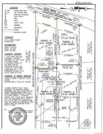 Residential Lots & Land For Sale: Celia Drive