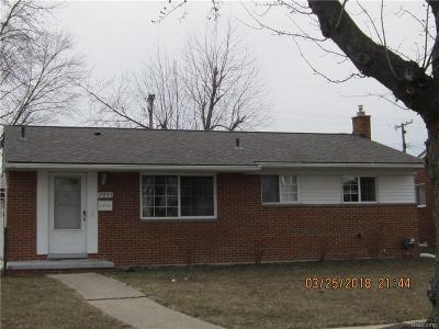 Shelby Twp, Utica, Sterling Heights, Clinton Twp Single Family Home For Sale: 2005 Winston Drive