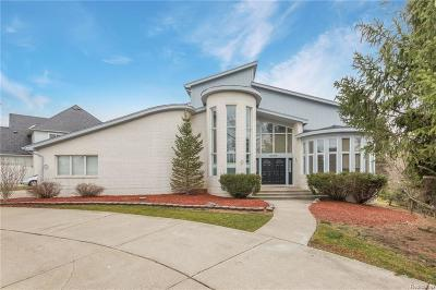 West Bloomfield Twp Single Family Home For Sale: 6499 Royal Pointe Drive