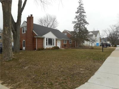 Birmingham, Bloomfield Hills Single Family Home For Sale: 1684 W Lincoln Street