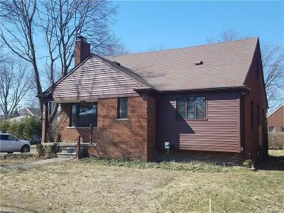 Birmingham Single Family Home For Sale: 411 Coolidge Road