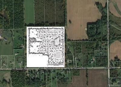 Howell Twp Residential Lots & Land For Sale: 3250 Bowen
