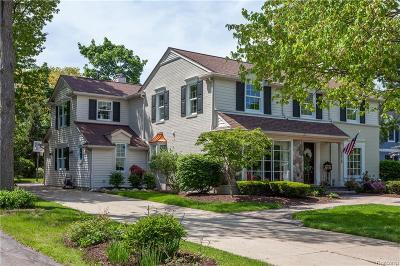 Bloomfield Twp Single Family Home For Sale: 379 Tilbury Road
