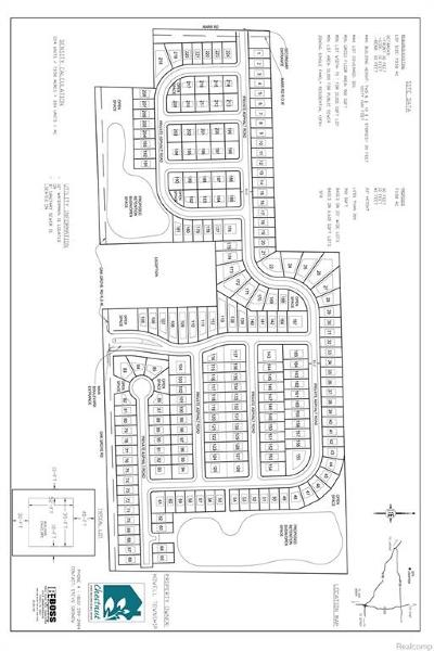 Howell Twp Residential Lots & Land For Sale: E Marr