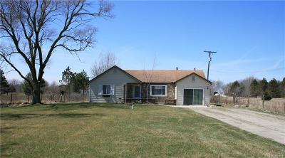 Romeo Vlg, Bruce Twp, Washington Twp Single Family Home For Sale: 80667 Scotch Settlement Road