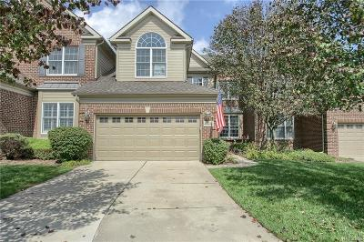 Northville Condo/Townhouse For Sale: 44486 Broadmoor