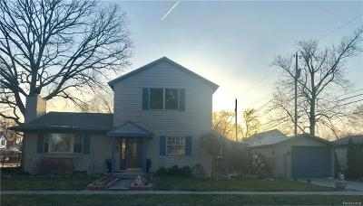 Clawson Single Family Home For Sale: 418 Phillips Avenue