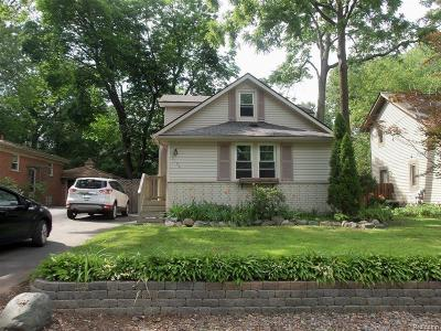 Sylvan Lake Single Family Home For Sale: 2124 Avondale Street