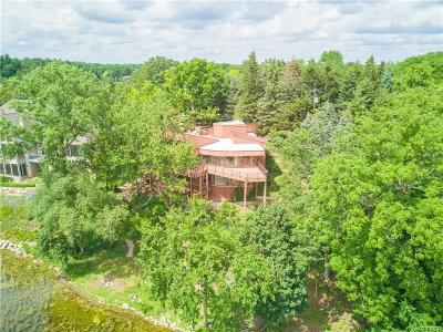 Bloomfield Twp Single Family Home For Sale: 1541 Island Lane