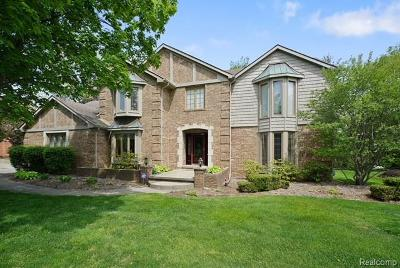 Rochester Hills Single Family Home For Sale: 2821 Portage Trail Drive