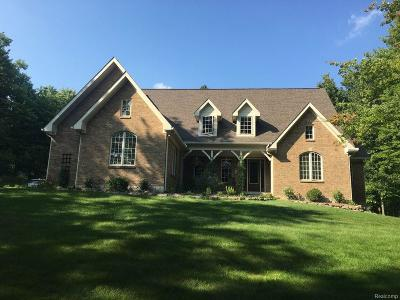 Oxford Single Family Home For Sale: 689 Indian Lake Road
