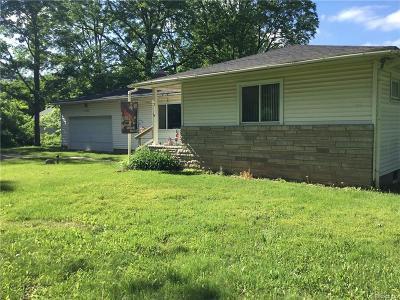 Brandon Twp Single Family Home For Sale: 2759 Granger Road