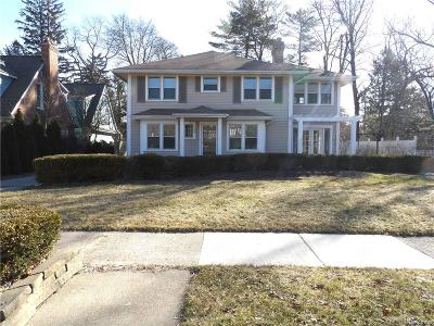 Birmingham Single Family Home For Sale: 148 Pilgrim Avenue