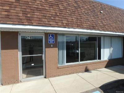 Independence Twp Commercial Lease For Lease: 4740 Clarkston Road