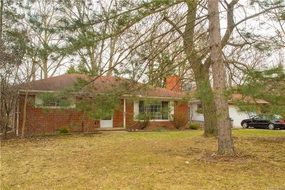 Troy Single Family Home For Sale: 6680 Coolidge Highway