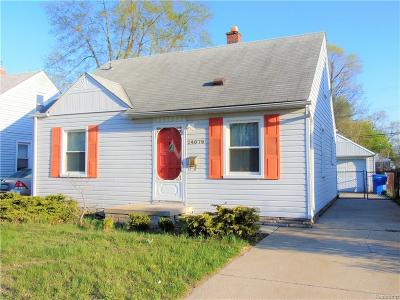 Dearborn Heights Single Family Home For Sale: 24079 Lehigh Street