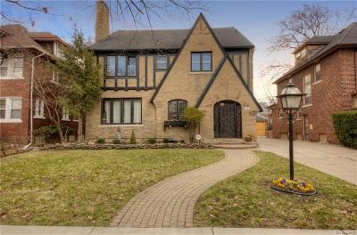 Detroit Single Family Home For Sale: 2041 Longfellow Street