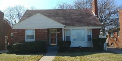 Oak Park Single Family Home For Sale: 13511 Oak Park Boulevard