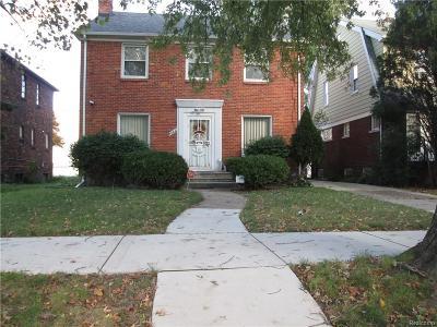 Detroit Single Family Home For Sale: 4882 Harvard