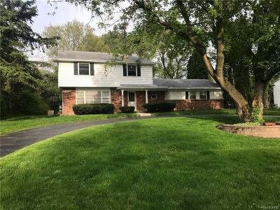 Troy Single Family Home For Sale: 6974 Limerick Lane