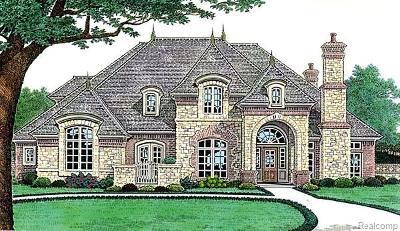 Northville Single Family Home For Sale: 18198 Parkshore Drive