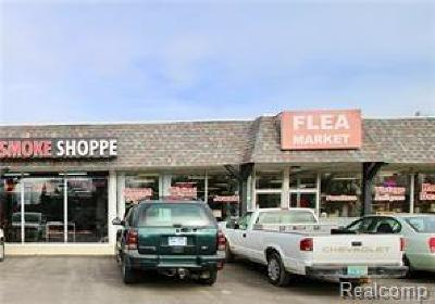 Waterford Twp Commercial Lease For Lease: 7938 Cooley Lake Road