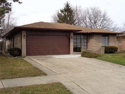 TROY Single Family Home For Sale: 1725 Crimson Drive