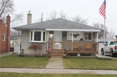 Madison Heights Single Family Home For Sale: 739 Eastlawn Avenue