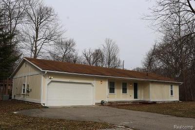Farmington Single Family Home For Sale: 21411 Orchard Lake Road