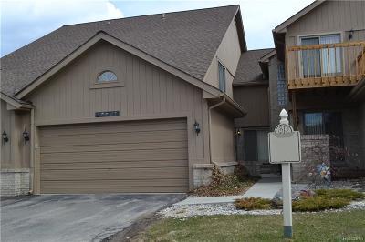 Farmington Hills Condo/Townhouse For Sale: 29556 Sierra Point Circle