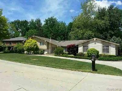 Clinton Twp Single Family Home For Sale: 38870 Santa Barbara Street