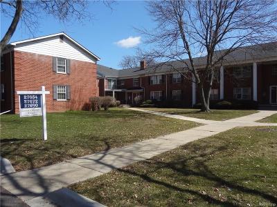 Farmington Hills Condo/Townhouse For Sale: 27690 E Echo Valley #125