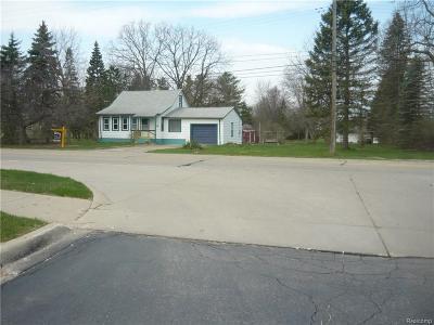 Canton Single Family Home For Sale: 3818 S Sheldon Road
