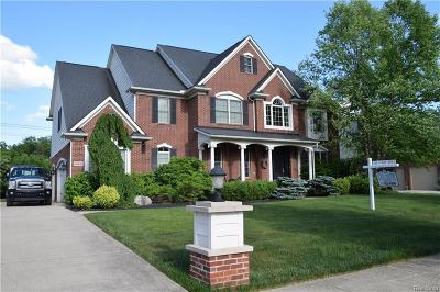 Grosse Ile, Gross Ile, Grosse Ile Twp Single Family Home For Sale: 23305 Fairway