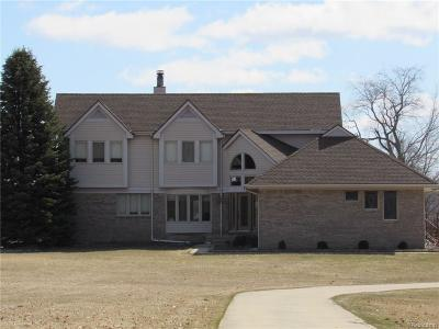 Oakland County Single Family Home For Sale: 1740 Rowe Road