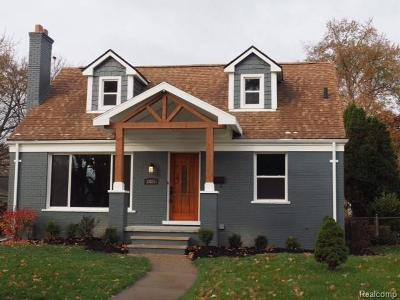 Royal Oak Single Family Home For Sale: 2925 Benjamin Avenue