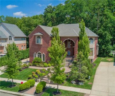 West Bloomfield, West Bloomfield Twp Single Family Home For Sale: 5543 Hampshire Drive