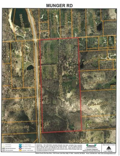 Rose Twp MI Residential Lots & Land For Sale: $699,900