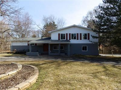 Bloomfield Twp Single Family Home For Sale: 5795 Inkster Road